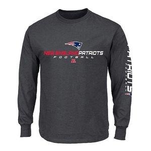 NFL New England Patriots Long Sleeve Tee